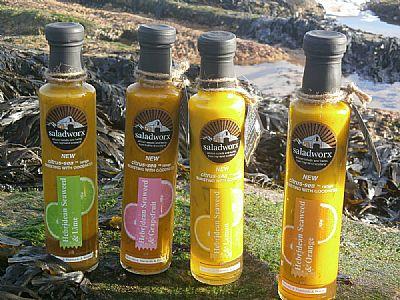 the new citrus sea range os saladworx dressings
