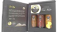 Gift Box 2 - 2  Tarragon & Elderflower  / Strawberry & Balsamic / Hebridean Seaweed & Lemon