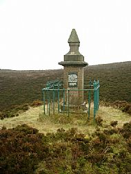 Auchengelloch monument.