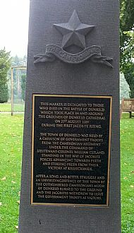 Dunkeld battle memorial story.