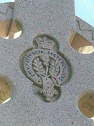 Royal Scot's Fusiliers and Girvan Boer War Memorial.