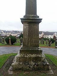 Lanark St leonard's Cemetery.