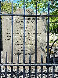 Covenanters grave Cumnock.