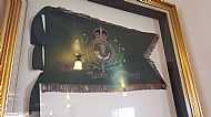 7th Battalion pipe standard Fenwick Church Ayrshire.