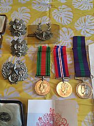Found Medals Elgin.