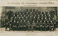 7th Battalion 1914.