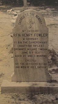 Rifleman Fowler, India.