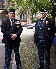 2nd Arras service Glasgow Sep 2018.