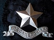 Cameronian Pipers Badge.