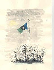 Flag Watercolour.