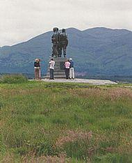 Commando memorial Spean Bridge.
