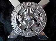lowland Brigade Badge.