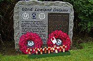 Lowland Division Memorial Hamilton.