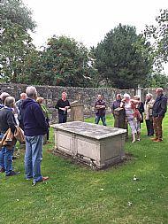 Irvine Martyrs Grave.