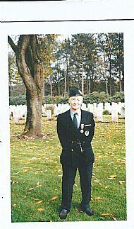 Sgt Bill Millar, return to Walchern 1994.