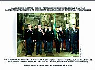 Cameronians at Glasgow Cathedral Neuve Chapelle Day.