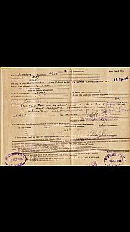 Hugh Hay service record.