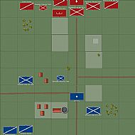 Battle of Alton Map