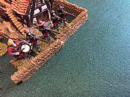 Forlorn hope defend the Inn