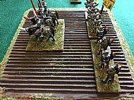 French Knights struggle in the heavy going