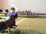 French Infantry column advances