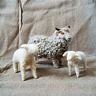 Needle Felting - Baby Lamb