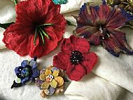 Master Class 2 Fabulous Felted Flowers