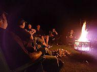 Campsite Bonfire
