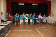 Inverness Fiddlers kick off the fun after tea
