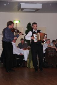 Sandy Brechin & Ronan Martin at the Ceilidh