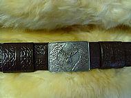Kilt Belt with Buckle