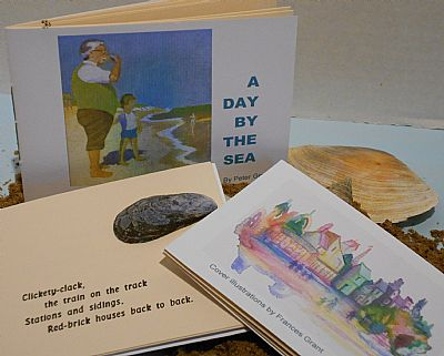 a day by the sea letterpress poetry pamphlet from hestan isle press
