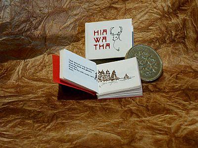 hiawatha twelfth-scale book from hestan isle press