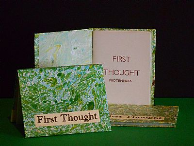 first thought miniature book by hestan isle press