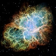 messier 1, the crab nebula. the first object messier put in his famous list