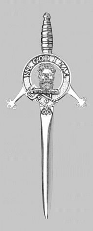 Clan Menzies Kilt Pin
