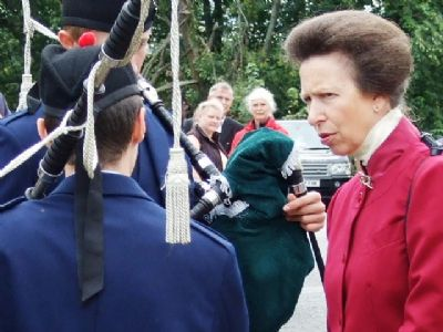 alasdair turner talking to the princess royal princess anne