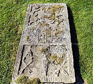 Old High Church Slab 2