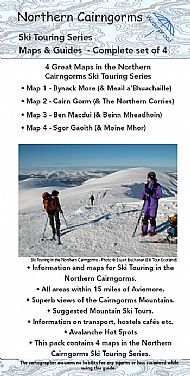 Northern Cairngorms Ski Touring Maps