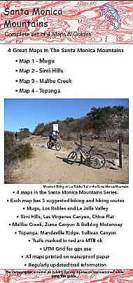 Santa Monica Mountains Maps
