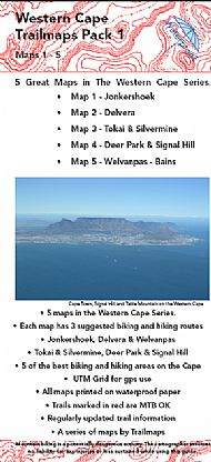 Western Cape Maps 1 - 5