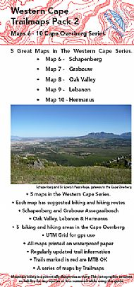 Westen Cape (Overberg) Map 6 - 10