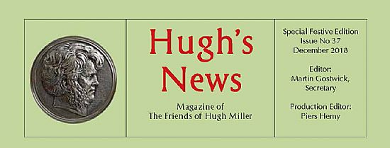 masthead for hugh's news