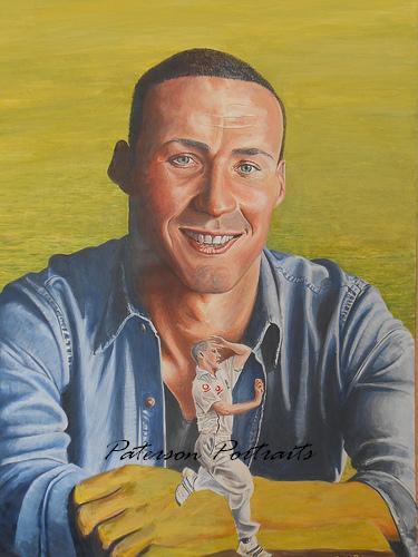 portrait of simon jones by david paterson