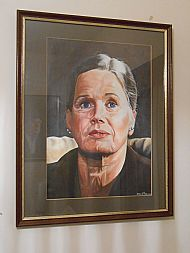framed ingrid bergman by david paterson