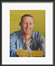 framed simon jones by david paterson