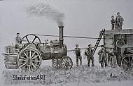 The thrashing mill
