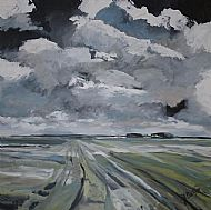 Clear, cold and biting wind, Burnham Deepdale