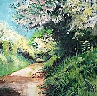 The Old Railway Line in May, Lowick
