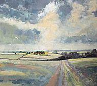View to Brancaster Staithe, November